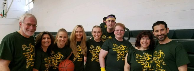 ABS Our Smith School Faculty enjoyed playing in the Harlem Wizards Game tonight