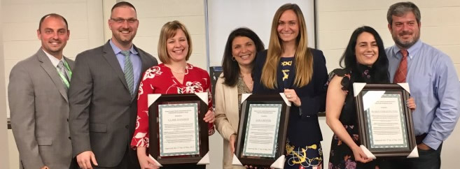 Congratulations to Mrs. Sara Dennin, Mrs. Clare Jennings, and Mrs. Maria Ives for being the recipients of the Bergen County Teacher Recognition Award