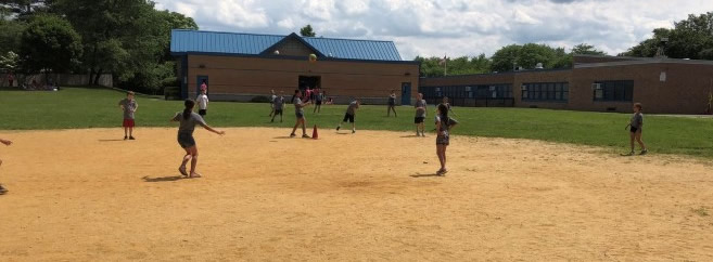 MB What a great field day and kick ball game