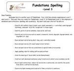 Fundations Letter
