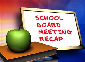Boe Meeting Recap