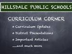 CURRICULUM CORNER - Please click this link to learn more about the Writers Workshop Intiative